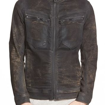 Men's G-Star Raw 'Arc Slander' Zip Moto Jacket,