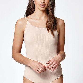 Lisakai Ribbed Cami Bodysuit at PacSun.com
