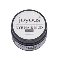 colored hair mud One-time hair dye Styling Cream hair temporary dye creamgold / purple / blue / rose red / silver