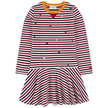 Sonia Rykiel Colorful Striped Dress