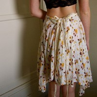 Double Sided Hippie Skirt by inzoopsia on Etsy