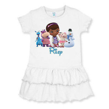 Custom Personalized Disney's Doc McStuffins Girl'sToddler Dress