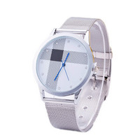 Women Girls Silver Alloy Strap Watches Fashion Casual Sports Watch Best Christmas Gift