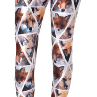 Foxy Leggings (Made to Order) | Black Milk Clothing