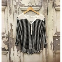 Just Right Stripe Top