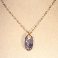 Gemstone Jewelry - Tumbled Sodalite Necklace