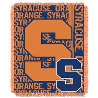 Syracuse College 48x60 Triple Woven Jacquard Throw - Double Play Series