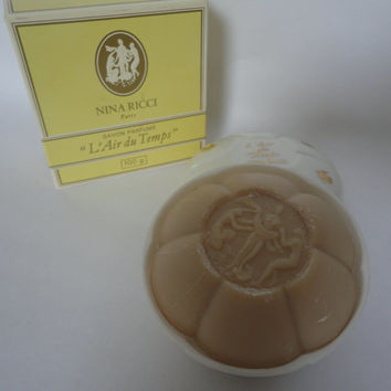 Vintage: Nina Ricci L'Air du Temps Savon Soap 100g / 3.5oz