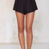 Sula Pleated Flutter Shorts