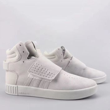 Adidas Tubular Invader Strap Fashion Casual High-Top Old Skool Shoes-10