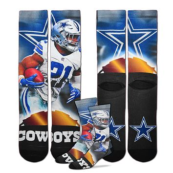 Dallas Cowboys Ezekiel Elliott All Star Socks