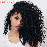 Brazilian Kinky Curly Clip In Hair Extensions