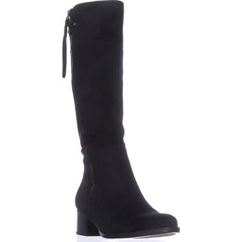 naturalizer Demi Riding Boots, Black, 9 US / 39 EU