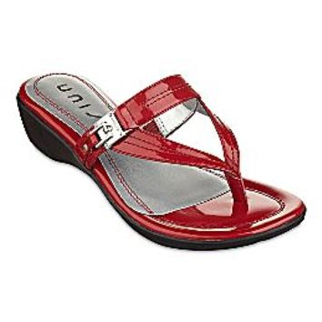 Unisa Annika Wedge Sandals From Jcpenney Shoes