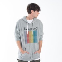 POLAROID Prism Faded Color Bars Pullover Hoodie by Altru Apparel