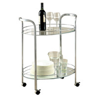 Hokku Designs Charlton Serving Cart & Reviews | Wayfair