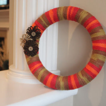 Wreath, Year Round Wreath, Fall Wreath, Christmas Gift, Teacher's gift, Unique gift ideas
