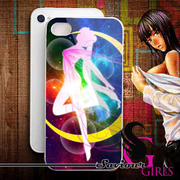 Sailormoon for iPhone 4/4S, 5/5S, 5C and Samsung Galaxy S3, S4 - Rubber and Plastic Case