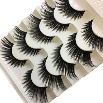 Out top 1 Box Luxury 3D False Lashes Fluffy Strip Eyelashes Long Natural Party Eyelashes Extension Tools C1004