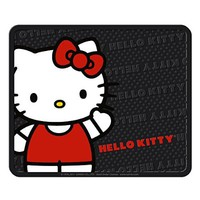 Plasticolor Rear Seat Utility Rubber car Truck SUV Floor Mats - Hello Kitty Sanrio Waving - Pair