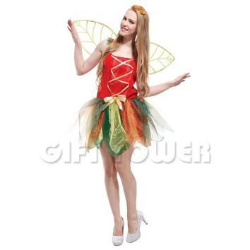 Retail 2017 new adult Halloween Dress,princess costume,women forest fairy costume,sexy party dress