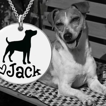 Jack Russell Terrier Custom Necklace
