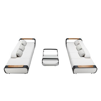 Double Sofa Outdoor Lounge Set | Higold Pininfarina