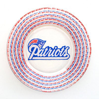 New England Patriots - NFL - Football Teams - Dinner or Salad Plates - Superbowl