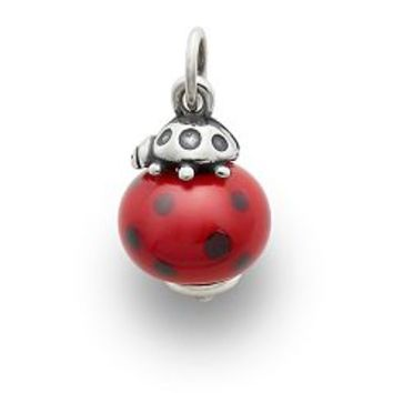 Ladybug Finial with Red & Black Charm | James Avery
