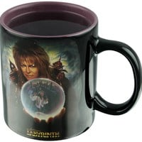 Labyrinth | Jareth Crystal Ball HEAT CHANGE MUG