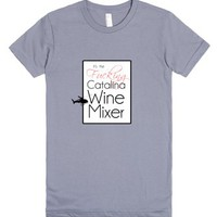 Catalina Wine Mixer 2-Female Slate T-Shirt