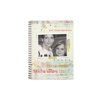 Graffiti Note Paper High School Taped Photo Notebook