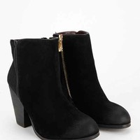 Report Orchid Heeled Ankle Boot- Black