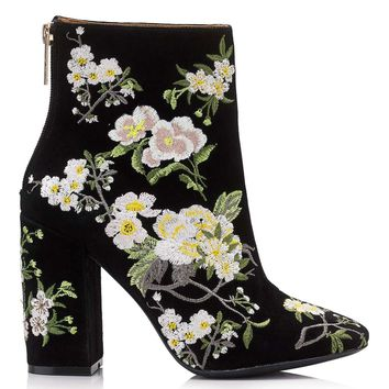 ATHENA Floral Embroidered Boot | Missselfridge
