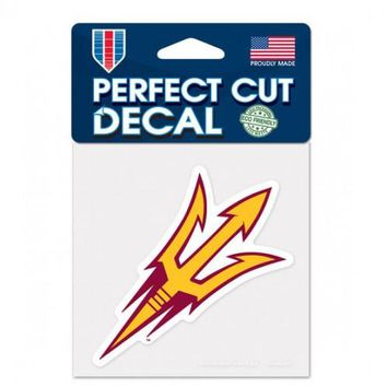 Arizona State Wildcats Decal 4x4 Perfect Cut Color