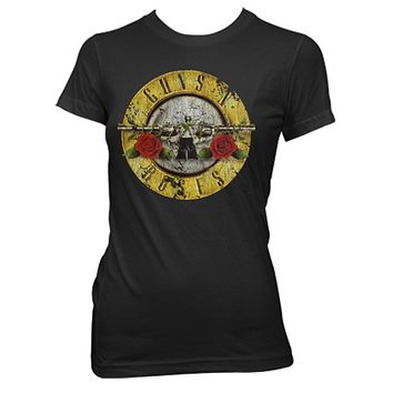 Guns N' Roses | Distressed Bullet T-Shirt