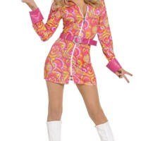 Retro Hippie Women's Sexy 70's Costume