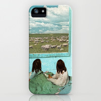 COUNT SHEEP iPhone & iPod Case by Beth Hoeckel Collage & Design