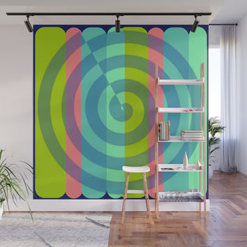 zappwaits satisfaction Wall Mural by netzauge