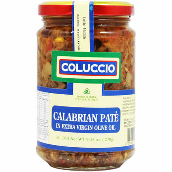 Calabrian Pate in EVOO by Coluccio 9.4 oz