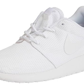 White Nike Women's Roshe One Running Shoe