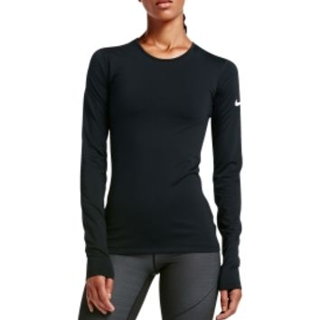 Nike Women's Pro Warm Long Sleeve Shirt | DICK'S Sporting Goods