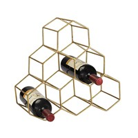 51-026 Angular Study Hexagonal Wine Rack