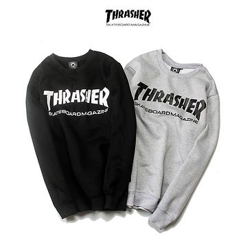 Thrasher Skateboard Magazine Sweater