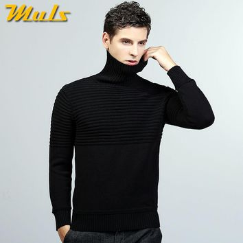 Muls sweaters turtle neck striped