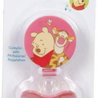 Winnie Pooh Pacifier and Holder Case Pack 6
