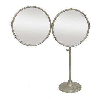 Mirrors, Ocie Table Mirror, Distressed Silver, Small Accent Mirrors