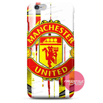 Manchester United Wallpaper Football iPhone Case 3, 4, 5, 6 Cover