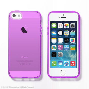 Purple Soft Clear iPhone 6 / 5s case