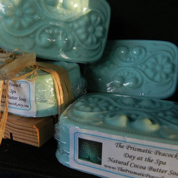 All Natural Cocoa Butter Soap, Day at the Spa Scented